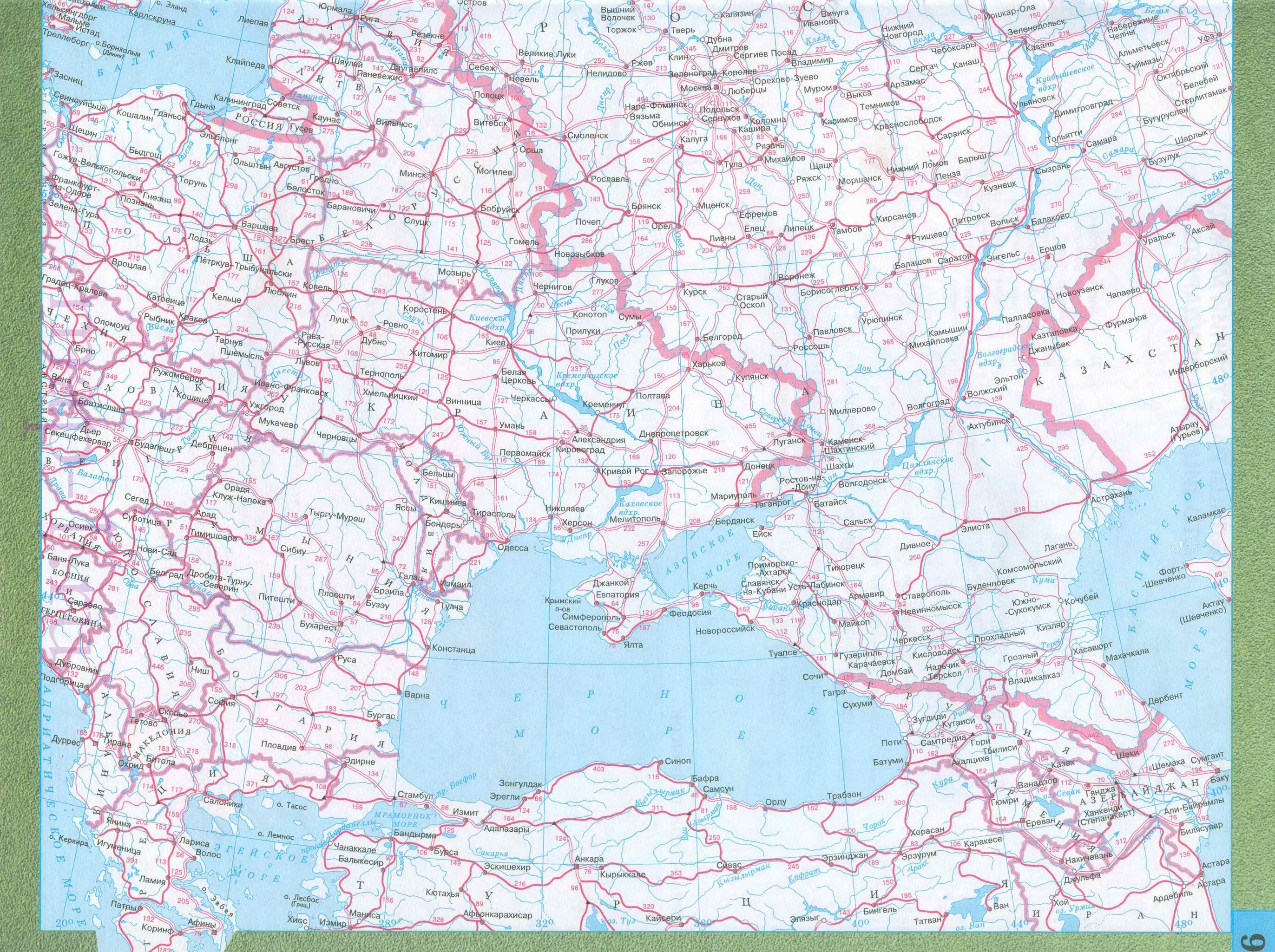Западной и восточной европы на