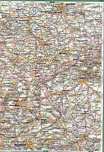 Большая карта европы на русском языке