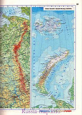 Карта севера европейской части России. Географическая ...: http://euro-atlas.ru/North_European_Russia_1103457.html