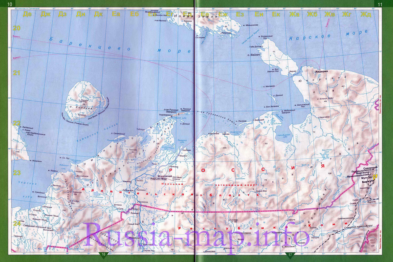 Карта дорог севера России. Подробная карта автодорог ...: http://euro-atlas.ru/Russia_Arctic_map1101513_0_2.htm
