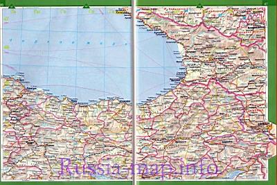 Географическая Карта Черноморского Побережья Краснодарского Края