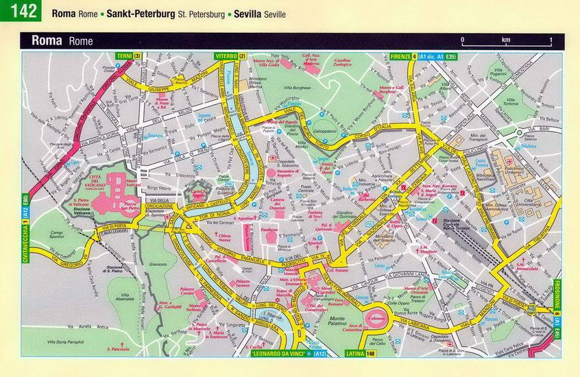 Карта Рима Скачать - фото 7