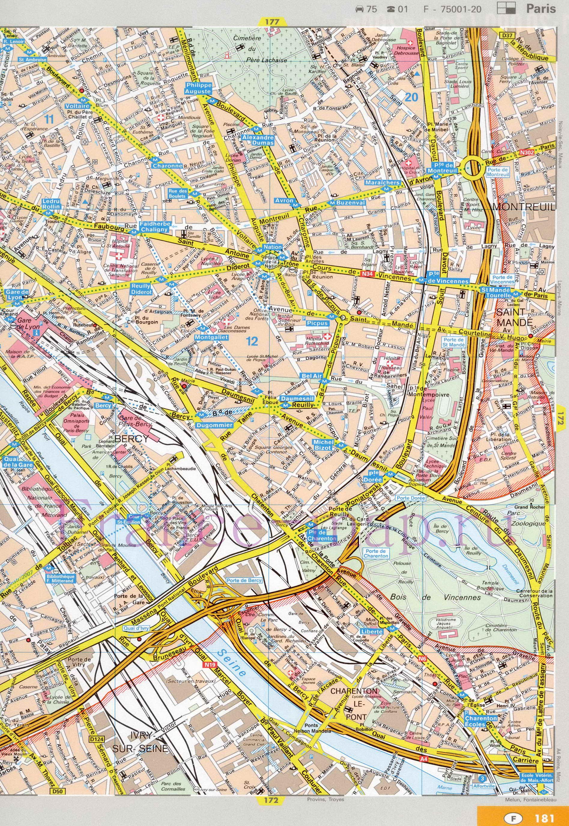 Карта кременчуга с улицами и дорогами